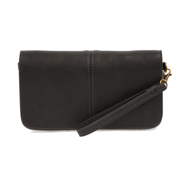 Black Mia Crossbody Clutch