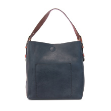 Luxe Hobo Bag in Indigo