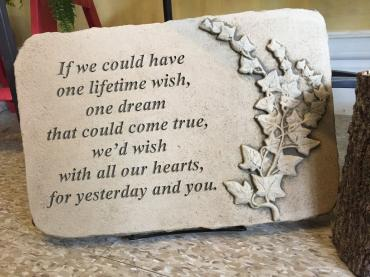 A Lifetime Wish. . .