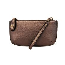 Metallic Brown Wristlet