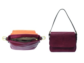 Merlot Convertible Crossbody Bag