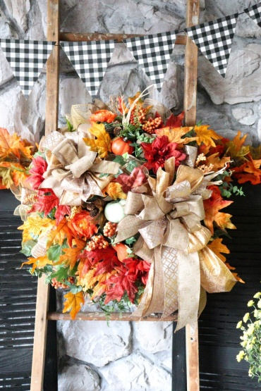 Deck Your Door Autumn Wreath