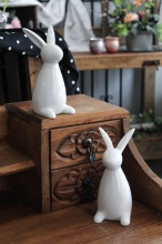 Tall Ceramic Bunnies