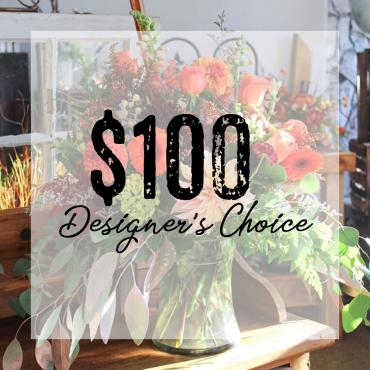 $100 Designer\'s Choice Bouquet